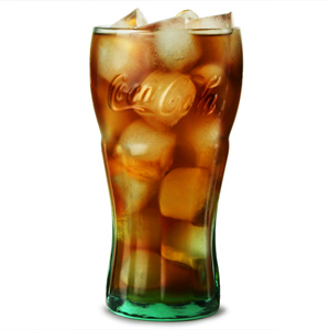 Coca Cola Green Glasses 23oz / 650ml