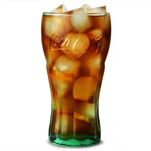 Coca Cola Green Glasses 23oz 650ml Case Of 24