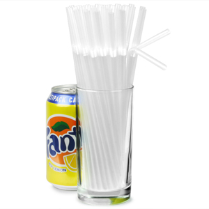 Bendy Straws 8inch Clear 4 Boxes Of 250