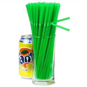 Biodegradable Bendy Straws 8inch