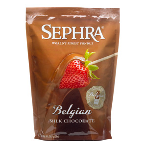 Sephra Belgian Milk Chocolate 907g