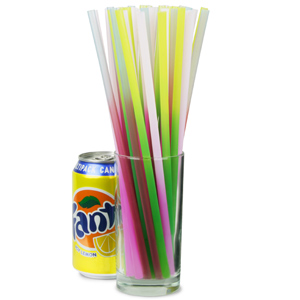 Colour Changing Drinking Straws 10inch