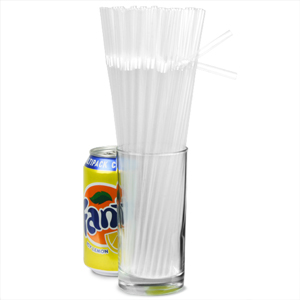Crystal Bendy Straws 9.5inch