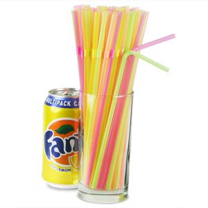 Flexi Straws 8inch Fluorescent