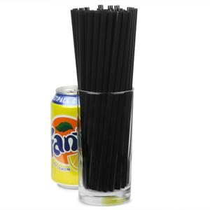 Jumbo Straws 8inch Black