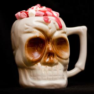 Ceramic Skull Tiki Mug 10oz / 295ml