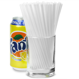 Sip Straws 5.5inch Clear