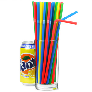 Summer Bright Bendy Straws 85inch 40 Boxes Of 250