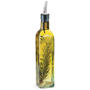 Prima Olive Oil Bottle with Stainless Steel Pourer 16oz / 473ml