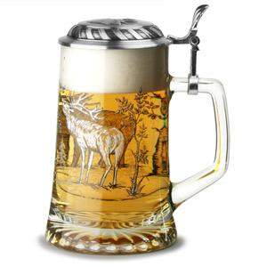 Sternbodenseidel Stag Beer Stein 17.6oz / 500ml