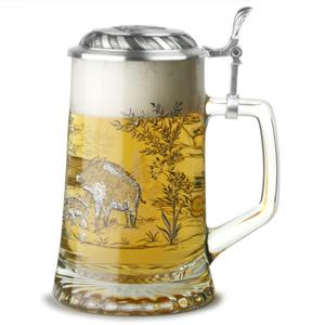 Sternbodenseidel Wild Boar Beer Stein 17.6oz / 500ml