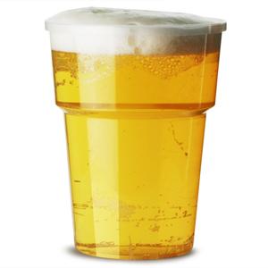 Katerglass Plastic Half Pint Tumblers 12oz LCE at 10oz