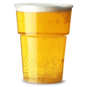 Katerglass Plastic Pint Tumblers 22oz LCE at 20oz
