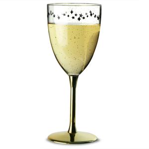 Midnight Plastic Wine Glass 13oz / 370ml