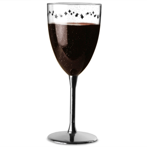Enchanted Evening Plastic Wine Glass 13oz / 370ml