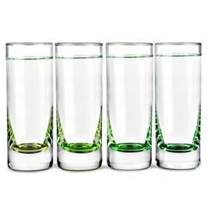 LSA Coro Shot Glasses Leaf 2.8oz / 80ml
