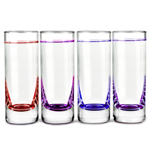LSA Coro Shot Glasses Berry 2.8oz / 80ml