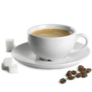 Churchill White Beverage Cappuccino Cup and Cappuccino Saucer 7.5oz / 210ml