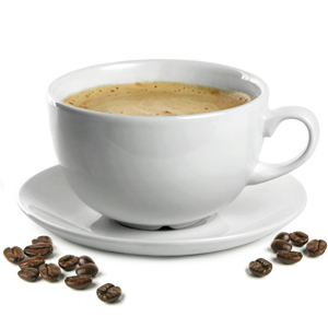 Churchill White Beverage Cappuccino Cup and Cappuccino Saucer 17.5oz / 500ml