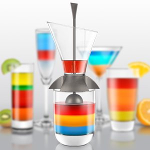Image of Rainbow Cocktail Layering Tool