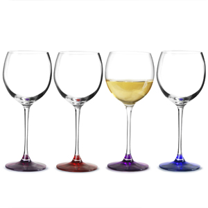 Lsa Coro Berry Wine Glasses 14oz 400ml Pack Of 4