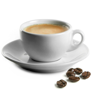 Royal Genware Italian Espresso Cups & Saucers 3oz / 90ml