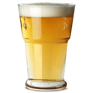La Rochère Bee Beer Glasses 14oz / 400ml