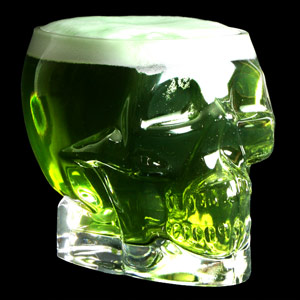 Tiki Skull Glass 24.75oz / 700ml