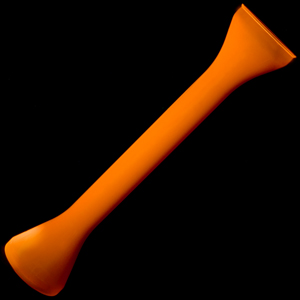 Plastic Half Yard of Ale Orange