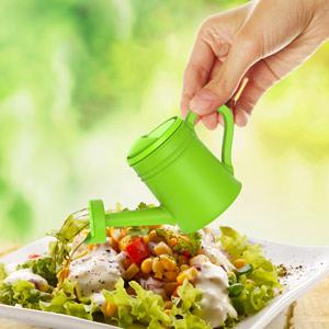 Oil Can Oil & Vinegar Dispenser Green