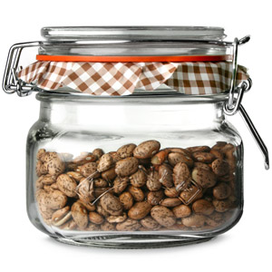 Kilner Square Clip Top Jar 0.5ltr