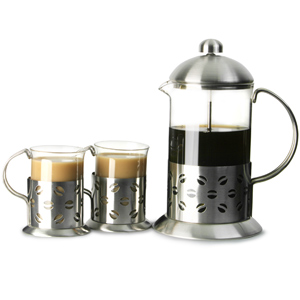 Apollo Stainless Steel Coffee Set