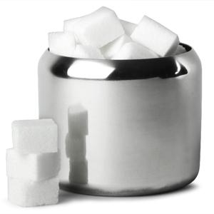 Genware Sugar Bowl Mirror Finish 10oz
