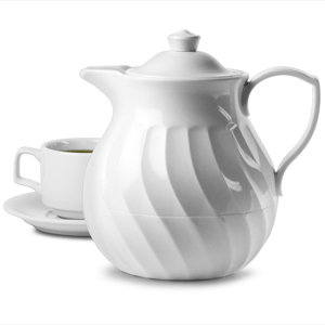 Connoisserve Tea Pot White 36oz / 1ltr