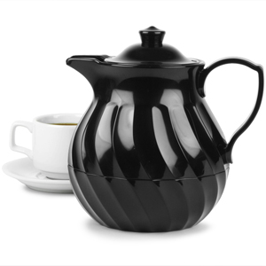 Connoisserve Tea Pot Black 36oz / 1ltr