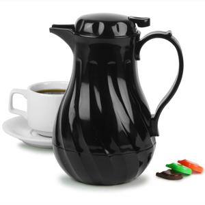 Connoisserve Coffee Pot Black 20oz 06ltr Single