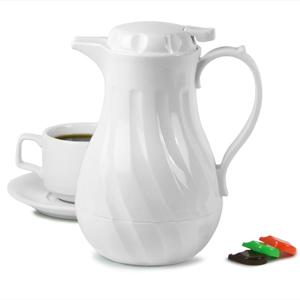 Connoisserve Coffee Pot White 20oz / 0.6ltr