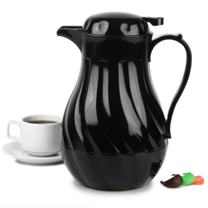 Connoisserve Coffee Pot Black 64oz / 2ltr