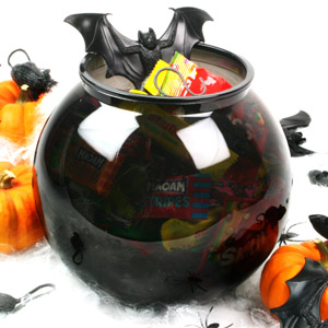 Plastic Cocktail Fish Bowl Black 105.5oz / 3ltr