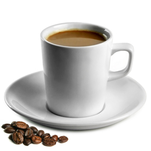 Royal Genware Conical Coffee Mugs & Saucers 7.75oz / 220ml