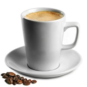 Royal Genware Latte Mugs & Saucers 12oz / 340ml