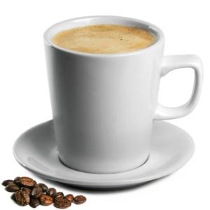 Royal Genware Latte Mugs & Saucers 15.5oz / 440ml