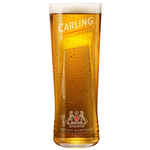 Carling Half Pint Glasses CE 10oz / 285ml