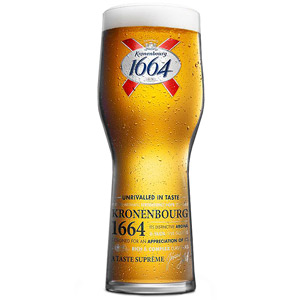 Kronenbourg Pint Glasses CE 20oz / 568ml