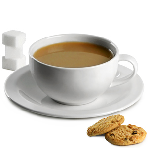 Elia Miravell Tea Cups & Saucers 8oz / 230ml