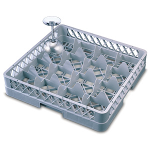 Image of 16 Compartment Glass Rack