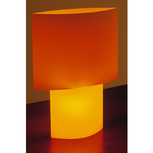 Drinkstuff - Black + Blum Turn Me On Light Orange Lamp Uk Buy