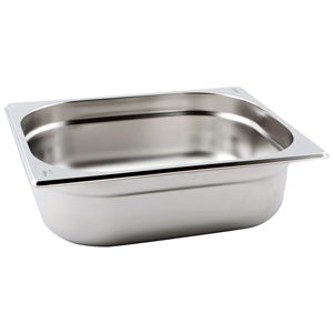 Gastronorm Pan 1/2 Half Size 100mm Deep