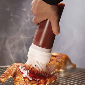 SaferFood Solutions BBQ Basting Brush Dispensing System