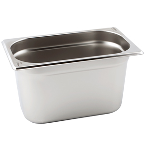 Gastronorm Pan 1/4 Quarter Size 150mm Deep
